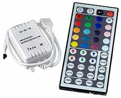 Контроллер LEMANSO для свленты с пультом 12V 72W (44 ключи)  LM834