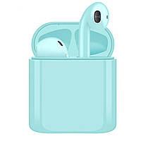 Вакуумные Bluetooth наушники TWS i20 с Кнопкка
