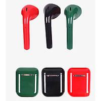 Вакуумные Bluetooth наушники TWS i20 Цветные