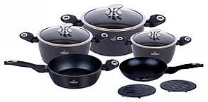 Набор посуды 10 предметов Bohmann BH-40-BLACK