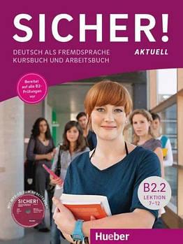 Sicher! aktuell B2/2 Kursbuch+Arbeitsbuch+MP3-CD zum AB