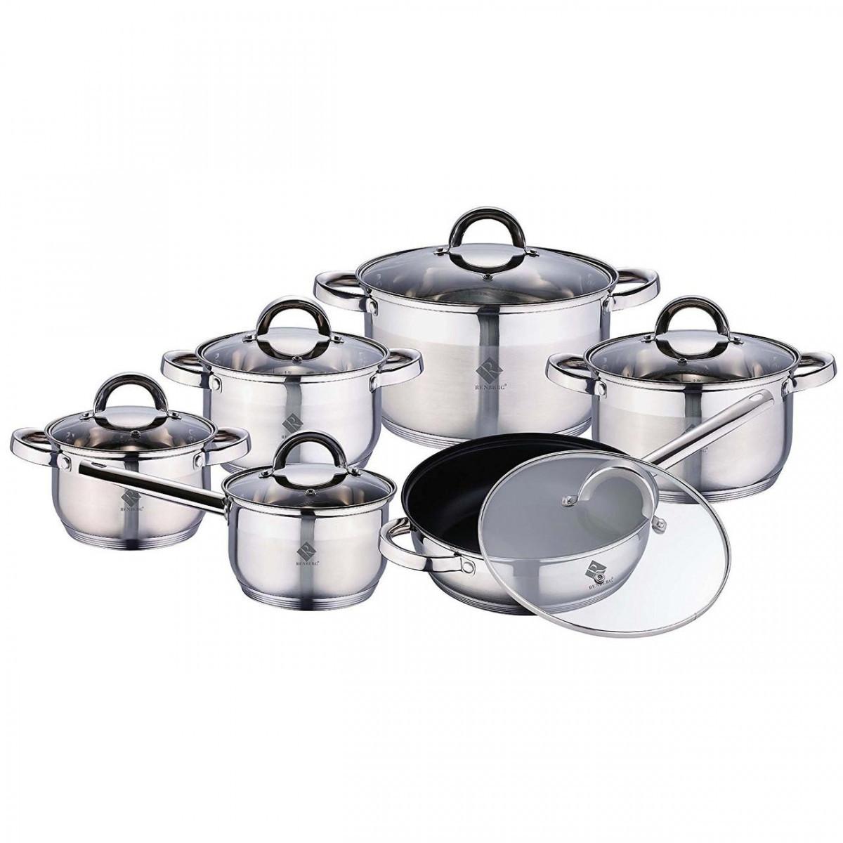 Набор посуды 12 предметов Alexander Renberg RB-2016