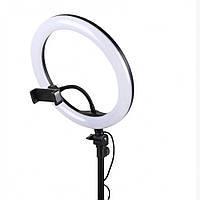 Кольцевая LED лампа USB 26cm для селфи RING LIGHT