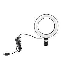 Кольцевая LED лампа USB 16cm для селфи RING LIGHT