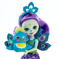 Лялька Енчантімалс Пава Петтер - Enchantimals Patter Peacock FXM74, фото 3