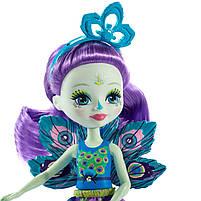 Лялька Енчантімалс Пава Петтер - Enchantimals Patter Peacock FXM74, фото 7