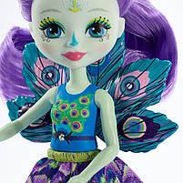Лялька Енчантімалс Пава Петтер - Enchantimals Patter Peacock FXM74, фото 6