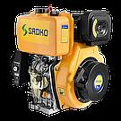Дизельний двигун Sadko DE-420E