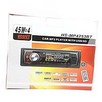 Автомагнитола HS MP-4253 BT 2 USB+Bluetooth ISO