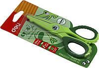 """Ножиці офісн. """"Deli"""" Кроко №6071E 13,4см безпечні , фото 1"""