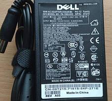 Блок Питания DELL 19.5v 3.34а Зарядка для ноутбука с Сетевым Кабелем, фото 3