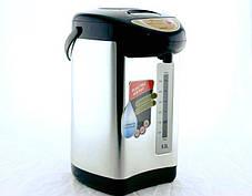 Термопот DOMOTEC на 5L (термос с функцией кипячения)Термос пищевой Термос с авторазливом., фото 2