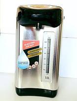 Термопот DOMOTEC на 5L (термос с функцией кипячения)Термос пищевой Термос с авторазливом., фото 3