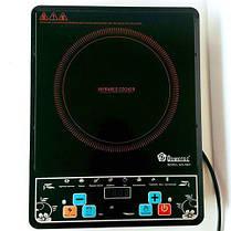 Инфракрасная электроплита DOMOTEC 2000 Вт с таймером, фото 3