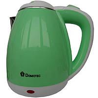 Электрочайник Пластиковый Domotec DT-901 1.8л 1500Вт