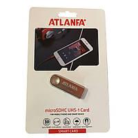 Міні-флешка з отвором для ключів 2.0 64Gb ATLANFA AT-U3