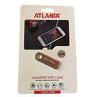 Мини-флешка с отверстием для ключей 2.0 32Gb ATLANFA AT-U3