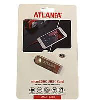 Мини-флешка с отверстием  для ключей 2.0 8Gb ATLANFA AT-U3