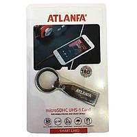 Флешка з брелоком для ключів 2.0 16Gb ATLANFA AT-U6