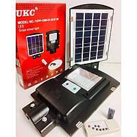 Уличный фонарь на столб UKC-7141 с солнечной панелью и Датчик движения 1VPP с пультом