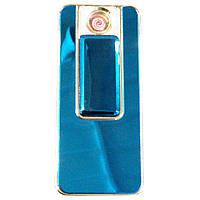 Спиральная USB зажигалка  Lighter Синяя