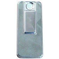 Спіральна USB запальничка Lighter Срібло