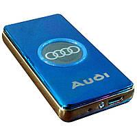 USB зажигалка Audi Синяя