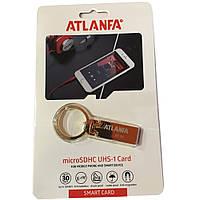 Мини-флешка с кольцом для ключей 2.0 64Gb ATLANFA AT-U2