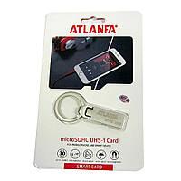 Мини-флешка с кольцом для ключей 2.0 16Gb ATLANFA AT-U2