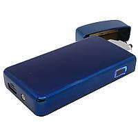 USB зажигалка плазменная на две дуги боковая глянцевая Z-033
