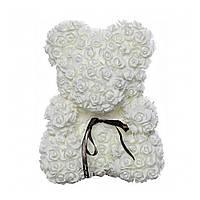 Мишко з троянд 25 см в пакеті