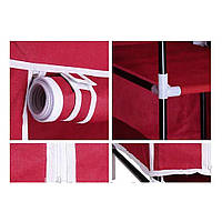Тканевый шкаф складной STORAGE WARDROBE KM-105 106х45х170 см