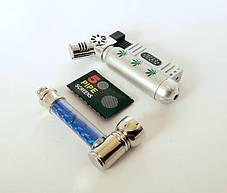 Курительная Трубка Зажигалка и Сеточки ( набор ), фото 2