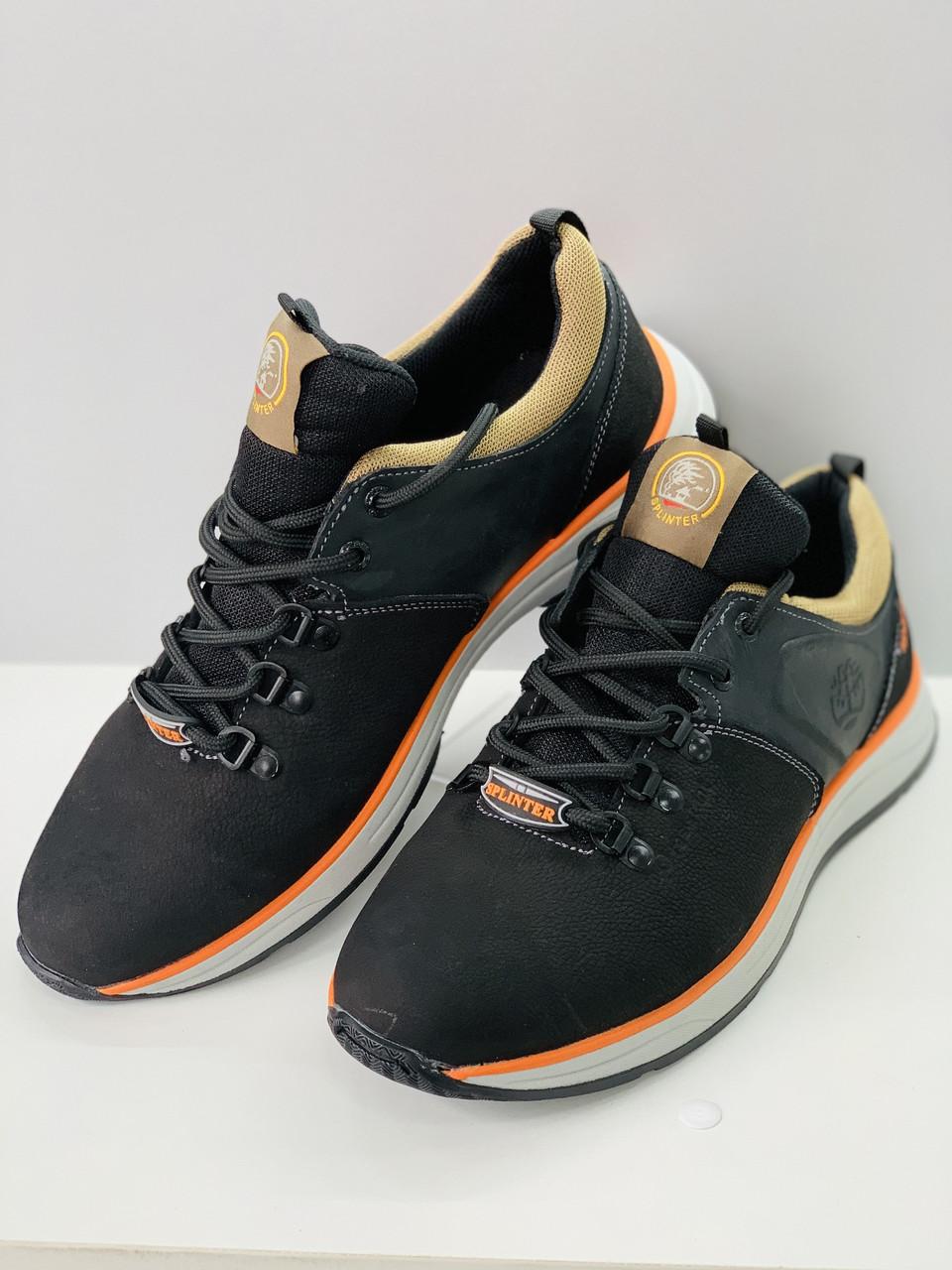 Кожные кроссовки мужские  / Осенние молодежные кроссовки