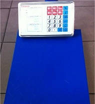 Торговые Весы до 150кг на Аккумуляторе с Металлической Головой Электронные, фото 2