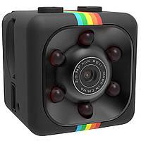 Мини камера SQ11 с ночной подсветкой и датчиком движения