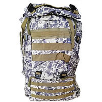 Военный рюкзак на 75 литров. Пиксель