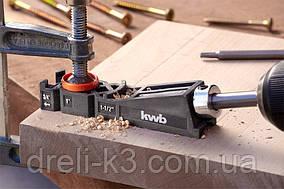 Кондуктор для сверления отверстий под углом 15° KWB 758600
