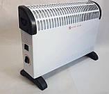Конвекторный обогреватель CB 2000 Crownberg электрический для дома квартиры кухни с терморегулятором, фото 3