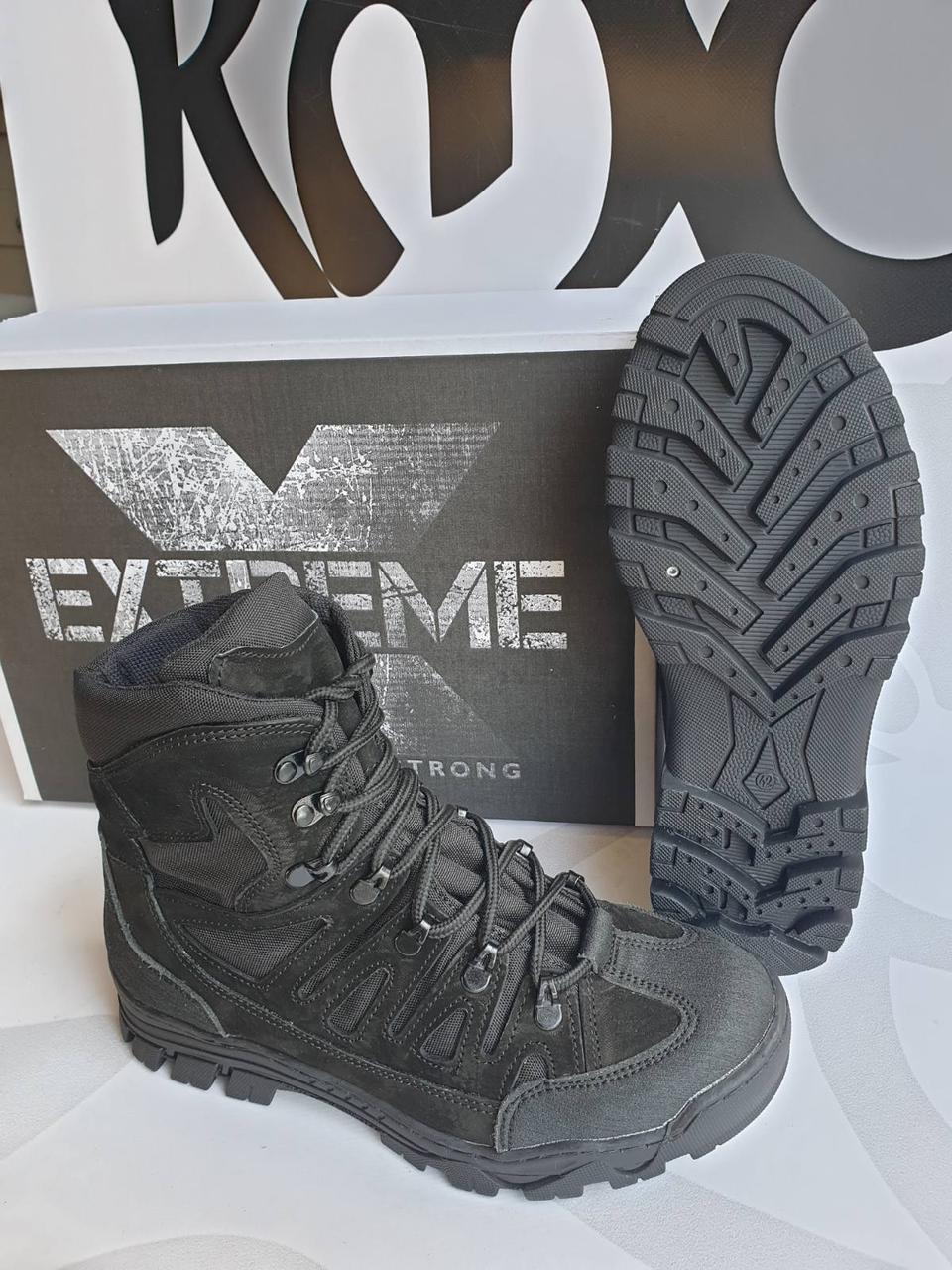 """Черевики зимові """"Extreme"""" Чорний"""