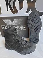 """Ботинки зимние """"Extreme"""" Чёрный"""