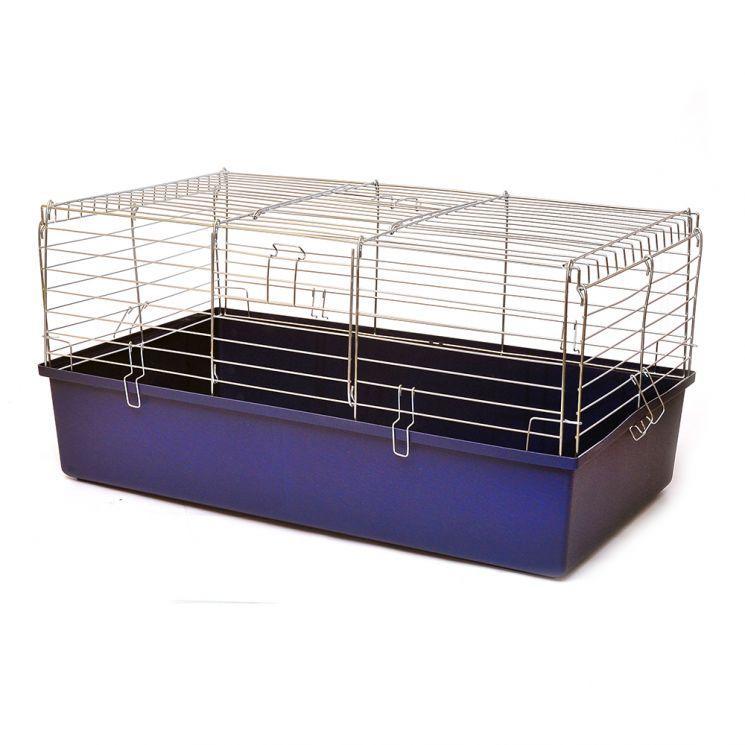 Клетка КРОЛИК-80 для грызунов, 79х45х39 см, цинк