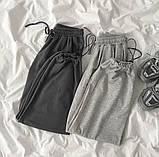 Спортивные трикотажные штаны (джоггеры) с фиксатором на манжете, Р-р.42-44, 44-46, 48-50 Код 489Ц, фото 2