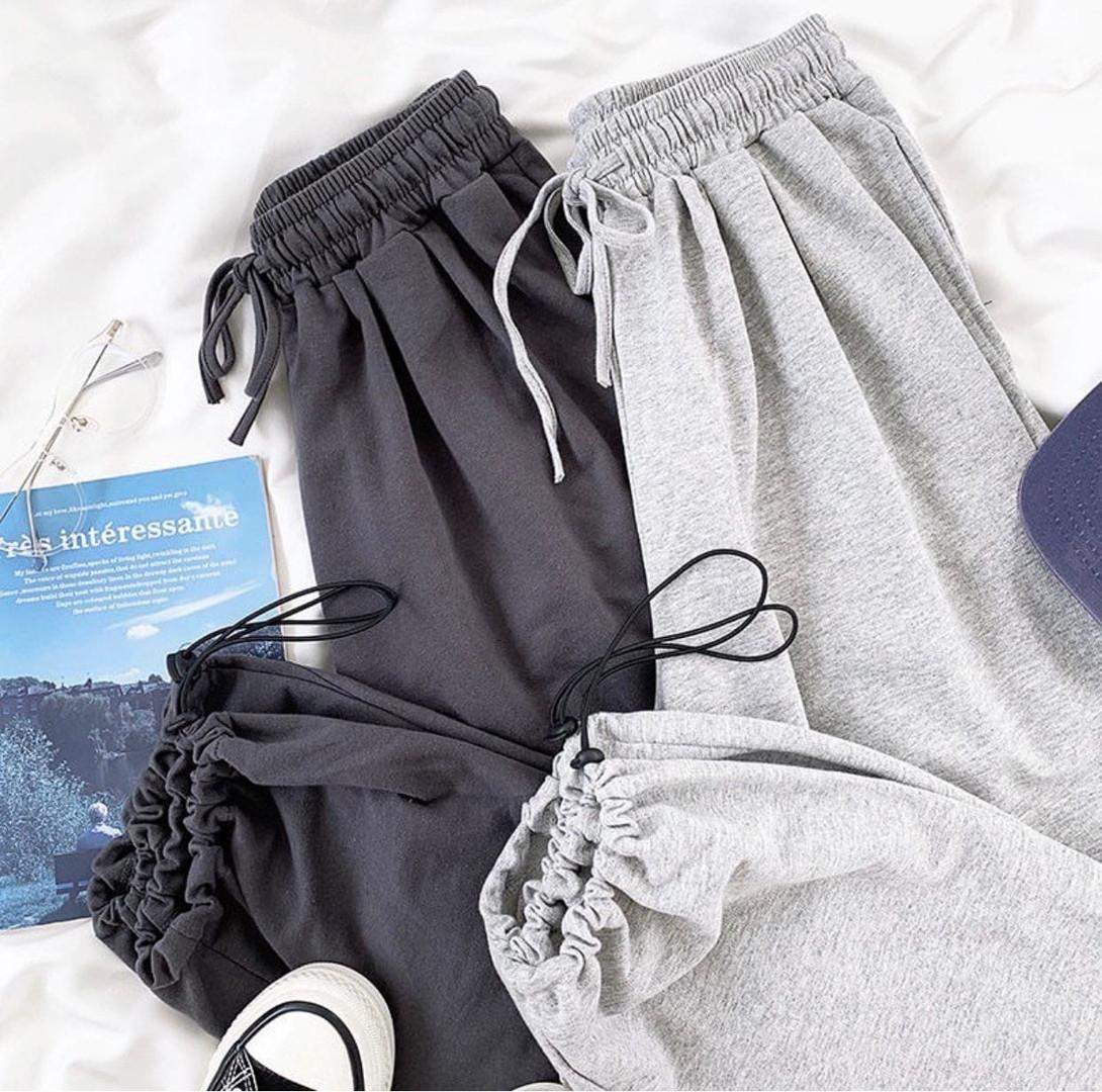 Спортивные трикотажные штаны (джоггеры) с фиксатором на манжете, Р-р.42-44, 44-46, 48-50 Код 489Ц
