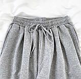 Спортивные трикотажные штаны (джоггеры) с фиксатором на манжете, Р-р.42-44, 44-46, 48-50 Код 489Ц, фото 5