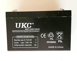 Аккумулятор Батарея 6V 10Ач для Мотоциклов Скутеров Мопедов, фото 2