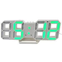 Настольные электронные часы CX-2218 GREEN  (Зеленая подсветка)