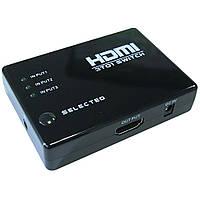 Коммутатор HDMI SWITCH 3 Port 1080P ИК пульт Spliter*3011013367 [1990]