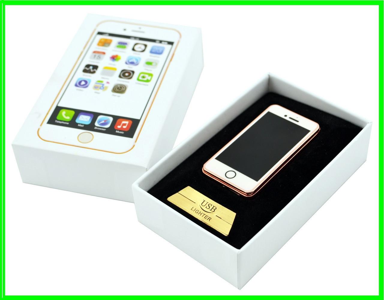 Электрическая USB Зажигалка iPhone (ВидеоОбзор)