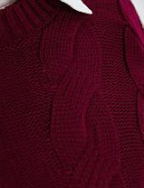 Теплый милый свитер  большого размера Универсальный размер 50-56, фото 2